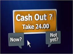 cash out with online bets
